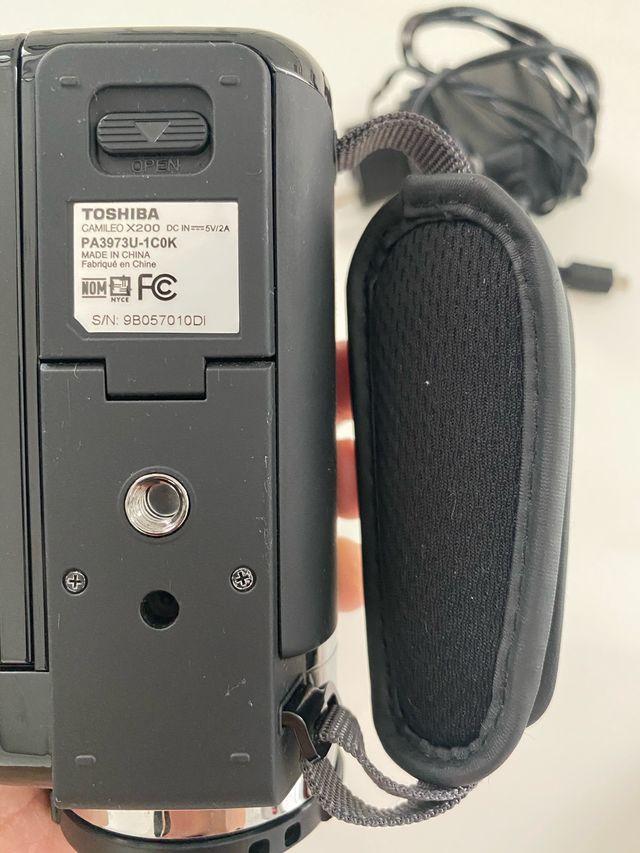 Video Cámara Táctil Toshiba Camileo x200