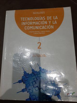 libro TIC 2° bachillerato