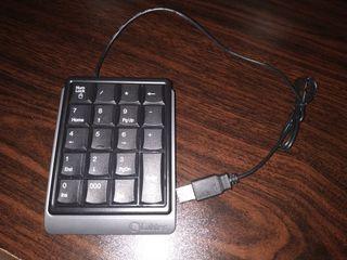 Teclado numérico Labtec USB cable