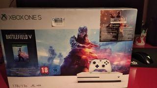 Xbox One S PRECINTADA, 2 años de garantía