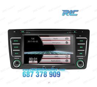 "RADIO NAVEGADOR 7"" SKODA OCTAVIA USB GPS TACTIL HD"