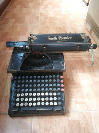 Màquina de escribir Smith Premier. Funciona