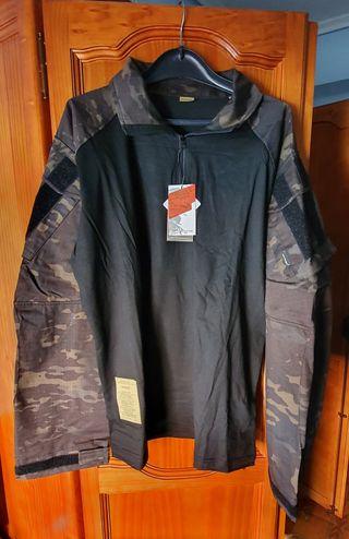 Camisa militar multicam negro de Emerson Gear