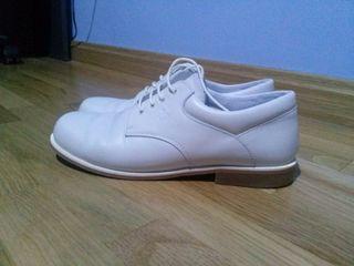Zapatos de Comunión de nino en beige