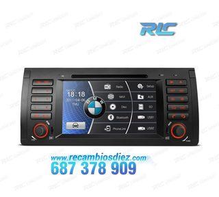 "RADIO NAVEGADOR 7"" BMW X5 E53 USB GPS TACTIL HD"