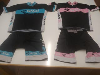 2 conjuntos ciclismo EKOI talla L