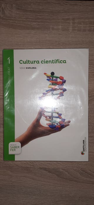Cultura científica. 1 Bartxillerat El libro está c
