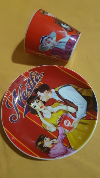 Tazas chocolates Nestle