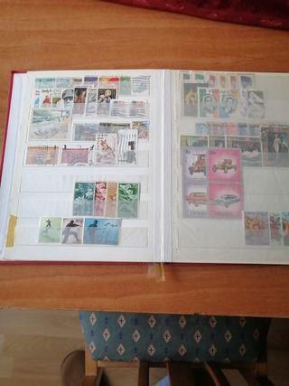 Bonita coleccion de sellos del mundo, nuevos y usa
