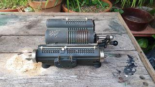 THALES PATENT Calculadora mecánica 1930.