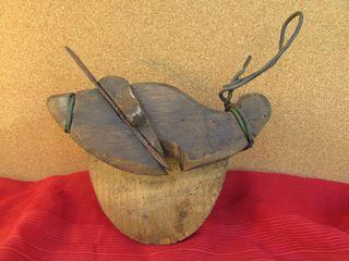 Azuela tonelero antigua tapas barriles