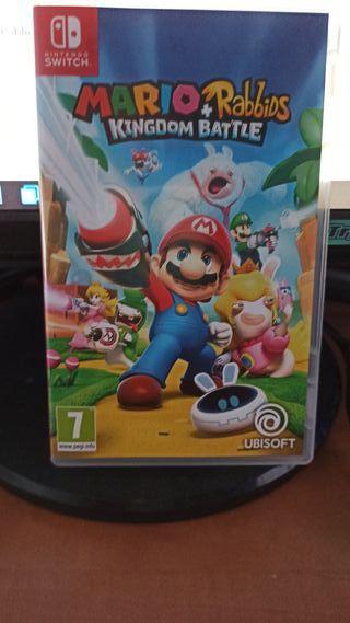 juego Mario+ Rabbids Kingdom Battle de switch