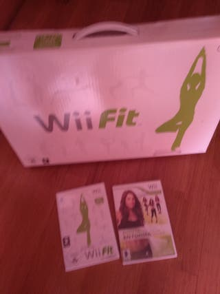 WII FIT JUEGO CON STEP