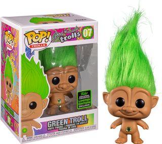 Funko Pop Green Troll 07.ECCC 2020