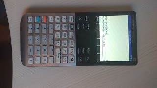 HP Prime Graphing Calculator Programable