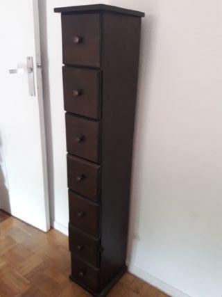 Mueble cajonera con 7 cajones