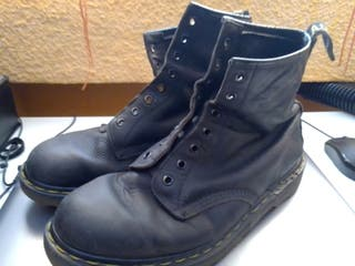 Botas Dr.Martens vintage negras Made in England