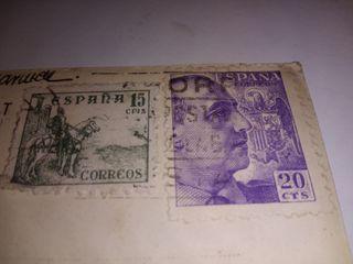 sello usado franco 20 CTS 1948