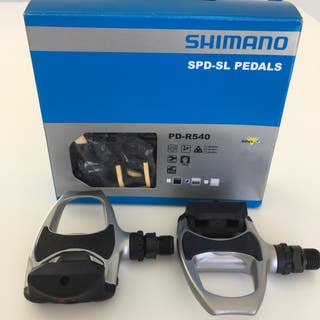 Pedales y Calas NUEVOS Shimano SPD-SL PD-R540