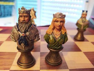 Ajedrez medieval coleccionistas
