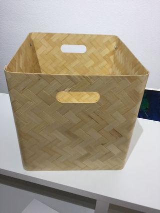 Cajas cestas ikea Bullig