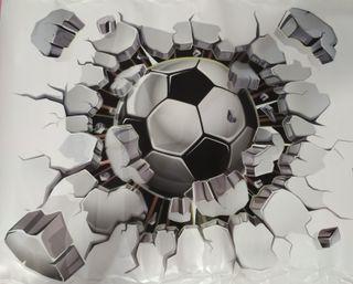 Adhesivo pared 3D