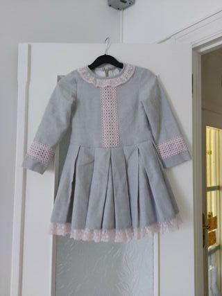 vestido fiesta niña 5-6 años