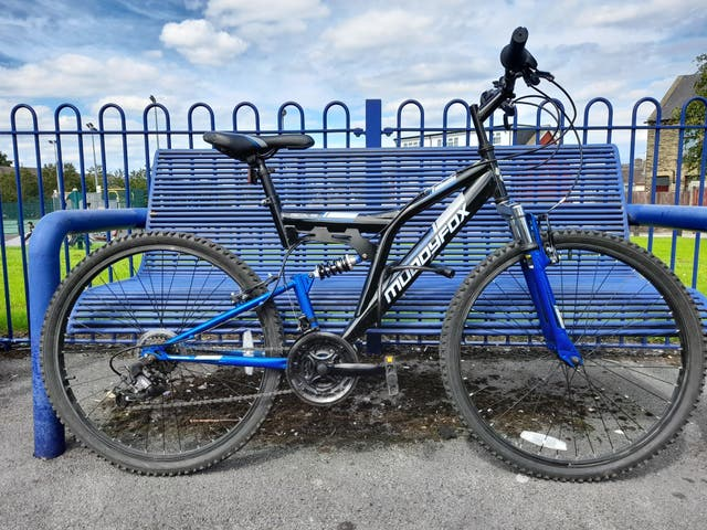 Muddyfox 26 inch Bike With suspension.