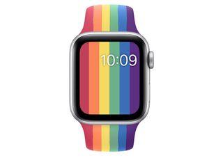 Correa sport deportiva Apple Watch edición orgullo