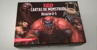 Pack Cartas Monstruos D&D