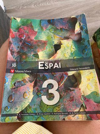 Libro tercero ESO biología