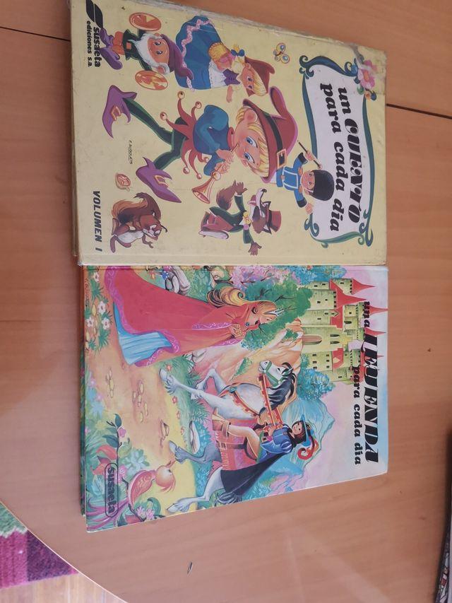 2 libros de cuentos y leyendas