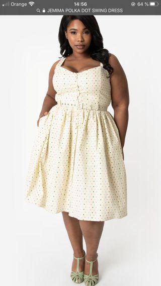 Vestido talla 16. 44 talla española