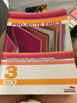 Libro tercero ESO catalán