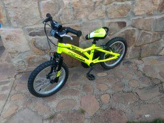 bicicleta niño de 16