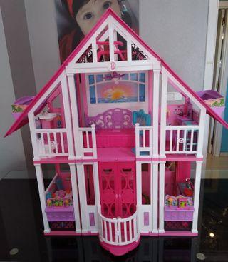 mansión casa de barbie