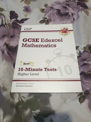 GCSE Maths, 10 minute tests