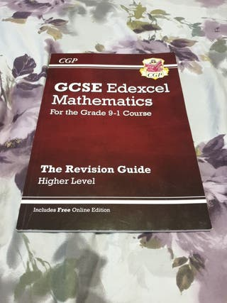GCSE Maths Textbook/Revison Guide
