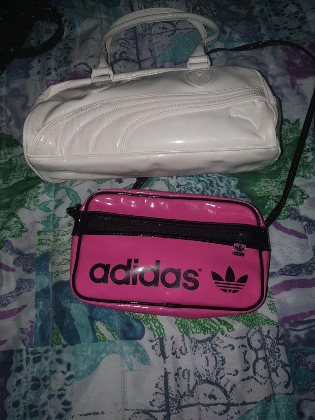 bolsa de puma y adidas..original cada una 10