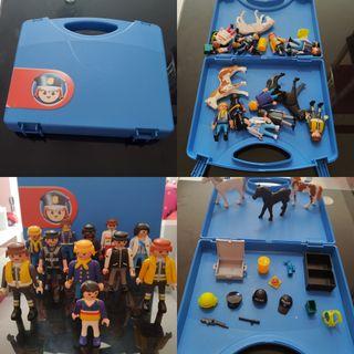 maletin con muñecos y accesorios de Playmobil