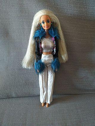 Barbie mattel sirena 90s