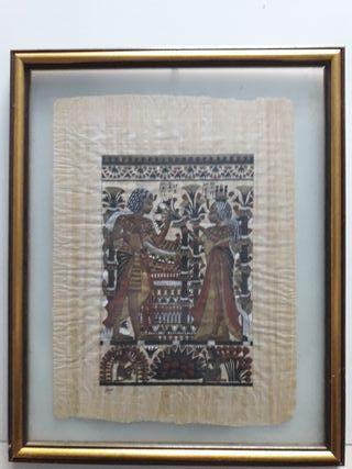 Pergamino Egipcio enmarcado y perfecto!