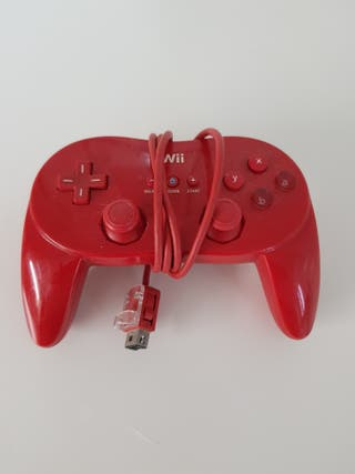 Mando Wii Pro Rojo