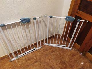 Barandilla de seguridad escalera niños