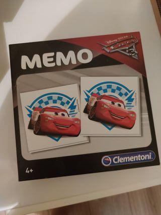 Juego memory The Cars