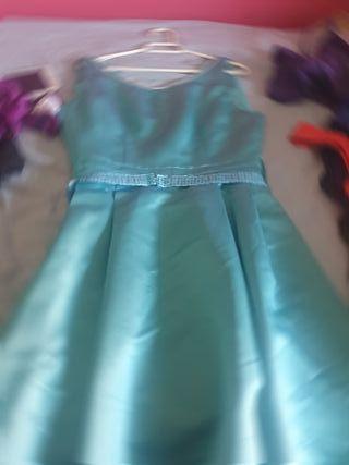 vendo vestido de fiesta hecho a mano