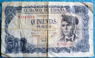 España, 500 Pesetas 1971 Jacinto Verdaguer