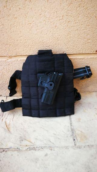 Airsoft, pernera para replicas glock 17