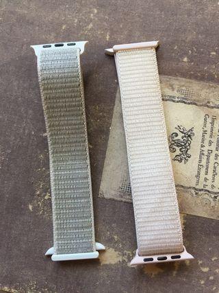 Pulsera de velcro para Apple Watch