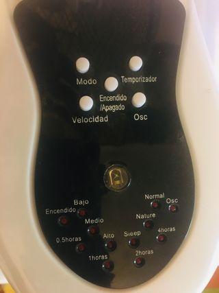 Ventilador de Pared con mando a distancia